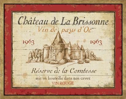 French Wine Labels I by Daphne Brissonnet art print