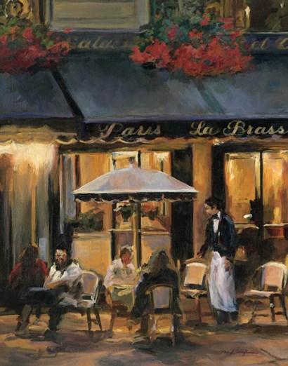 La Brasserie II by Marilyn Hageman art print