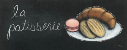 Chalkboard Menu II - Patisserie by Emily Adams art print