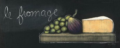 Chalkboard Menu III - Fromage by Emily Adams art print