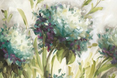 Hydrangea Field by Lisa Audit art print