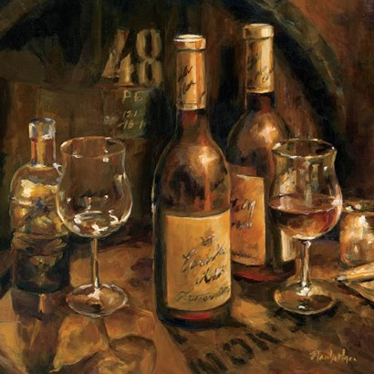 Wine Making by Marilyn Hageman art print