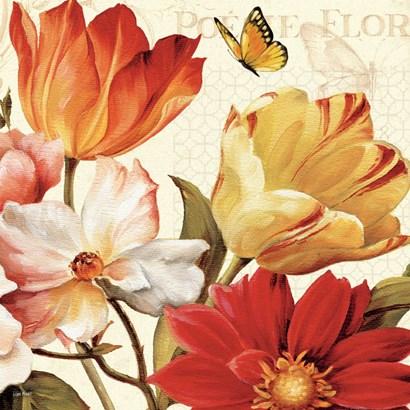 Poesie Florale III Crop by Lisa Audit art print