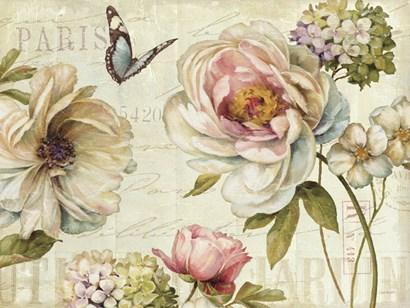Marche de Fleurs IV by Lisa Audit art print