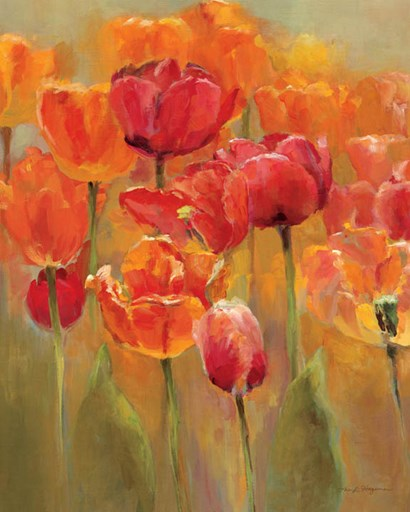 Tulips in the Midst I by Marilyn Hageman art print