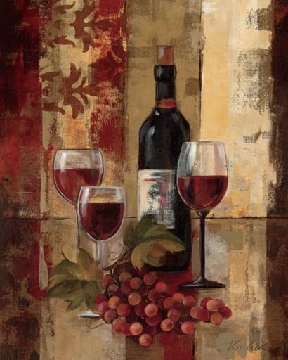 Graffiti and Wine II by Silvia Vassileva art print