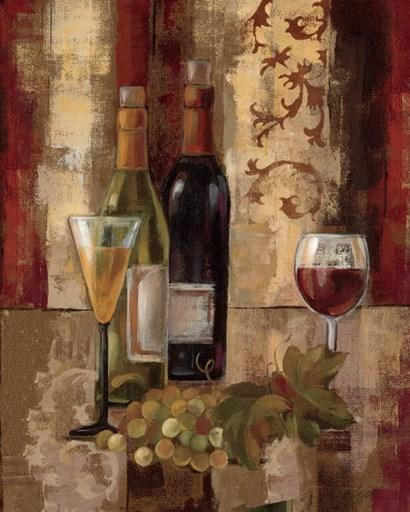 Graffiti and Wine III by Silvia Vassileva art print