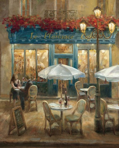 Paris Cafe I by Danhui Nai art print