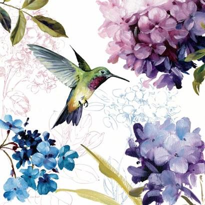 Spring Nectar Square II by Lisa Audit art print