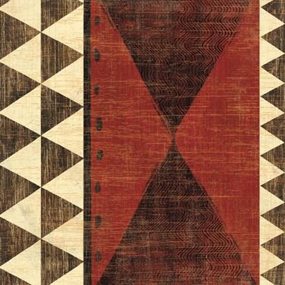 Patterns of the Savanna II by Moira Hershey art print