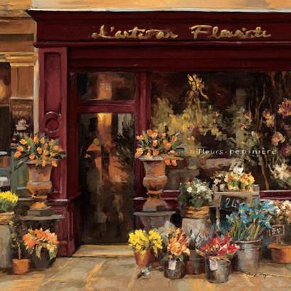 Parisian Shoppe I by Marilyn Hageman art print