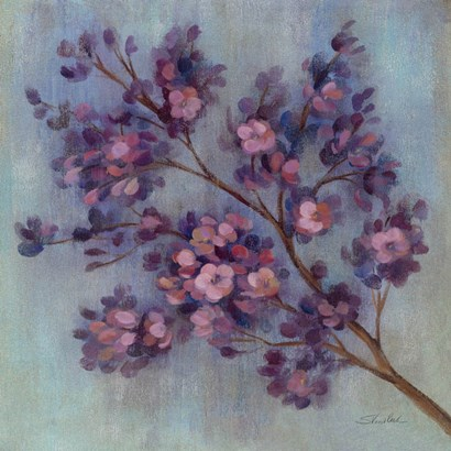 Twilight Cherry Blossoms II by Silvia Vassileva art print