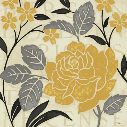 Perfect Petals II Yellow by Pela Studio art print