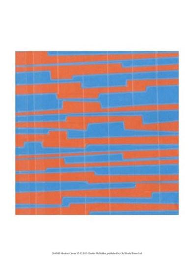 Modern Circuit VI by Charles McMullen art print