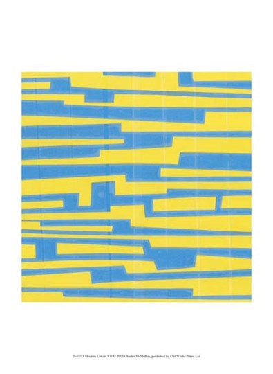 Modern Circuit VII by Charles McMullen art print
