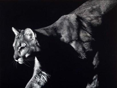 Prowler by Julie Chapman art print