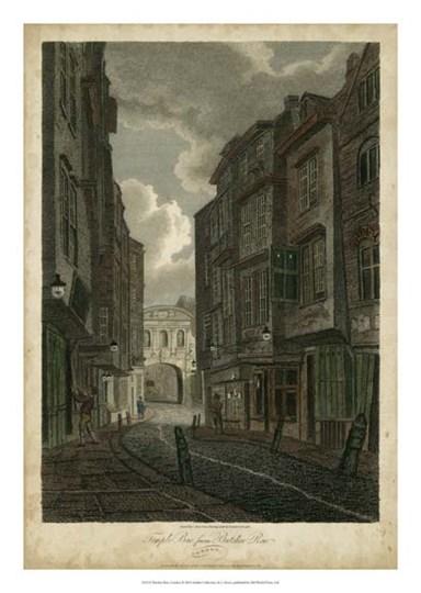 Butcher Row, London by J Stover art print