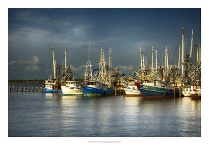 Shrimp Boats I by Danny Head art print