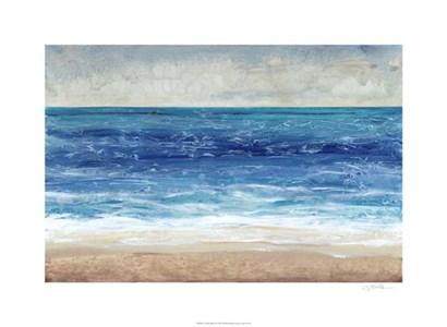 Crashing Blue II by Timothy O'Toole art print