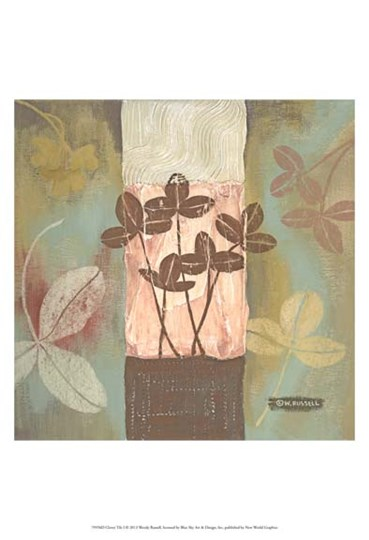 Clover Tile I by Wendy Russell art print