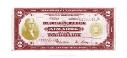 Modern Currency I by Vision Studio art print