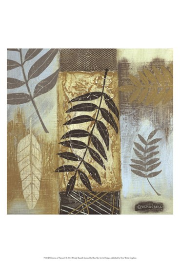 Patterns of Nature I by Wendy Russell art print