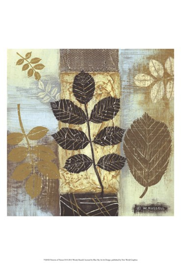 Patterns of Nature II by Wendy Russell art print