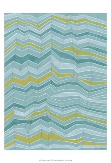 Tectonic Stripes I by Vanna Lam art print