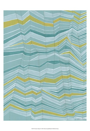 Tectonic Stripes II by Vanna Lam art print