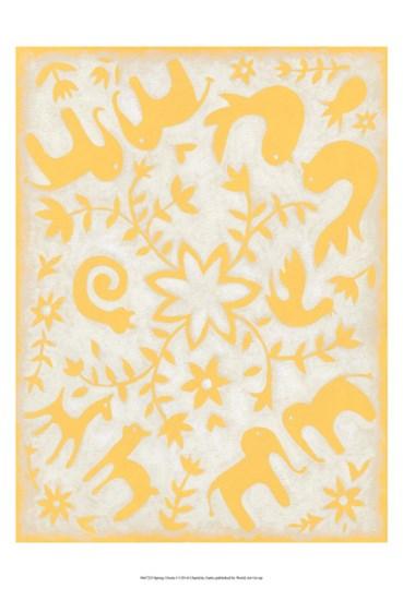 Spring Otomi I by Chariklia Zarris art print