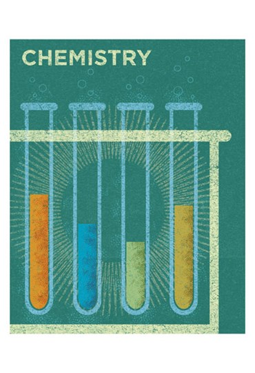 Chemistry by John W. Golden art print