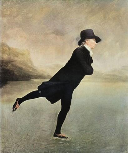 Reverend Walker Skating by Sir Henry Raeburn art print