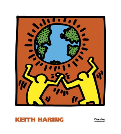 KH02 by Keith Haring art print