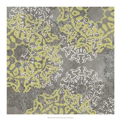 Rosette Profusion II by Jennifer Goldberger art print