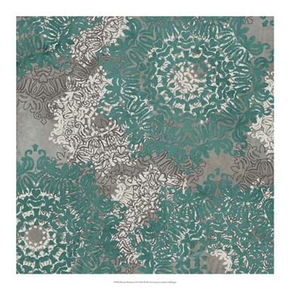 Rosette Profusion VI by Jennifer Goldberger art print