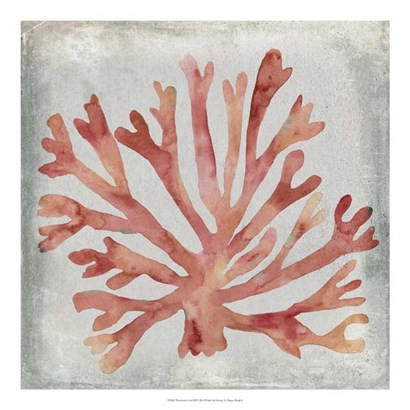 Watercolor Coral III by Megan Meagher art print