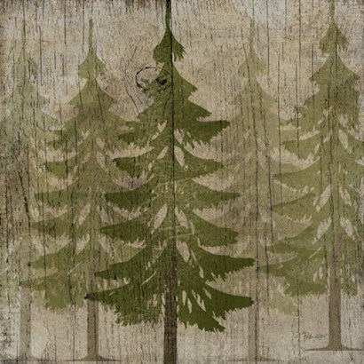 Pines by Beth Albert art print
