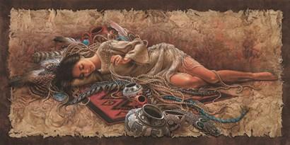 Memories of Times Past by Lee Bogle art print