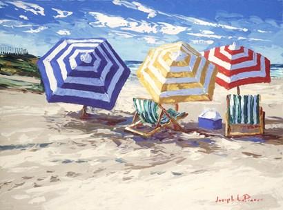 Spring Beach by Joseph LaPierre art print