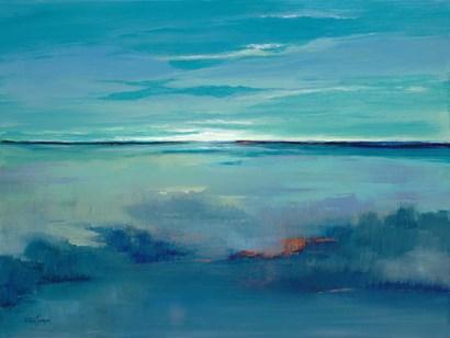 Blue Ciel by Victoria Jackson art print