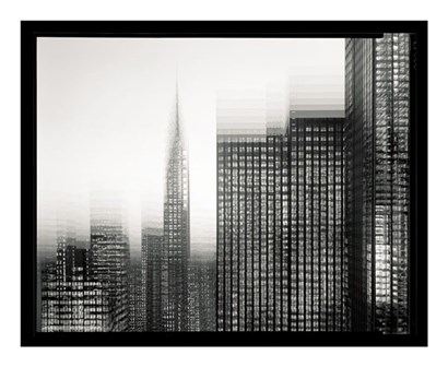 Chrysler Building Motion Landscape #1 by Len Prince art print