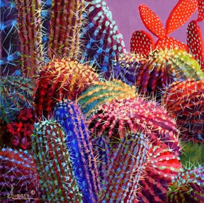 Barrel Cactus 4 by Sharon Weiser art print
