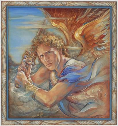 Avenging Angel by Susan Edison art print