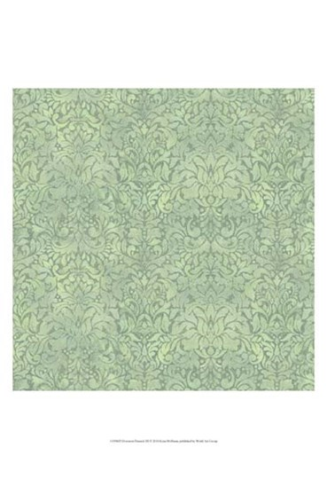 Downton Damask III by Katia Hoffman art print