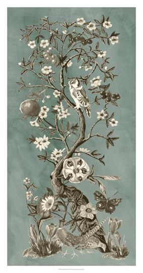 Chinoiserie Patina I by Naomi McCavitt art print