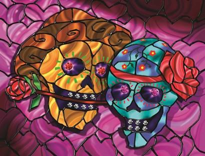 Day of the Dead 2 by Jeff Maraska art print