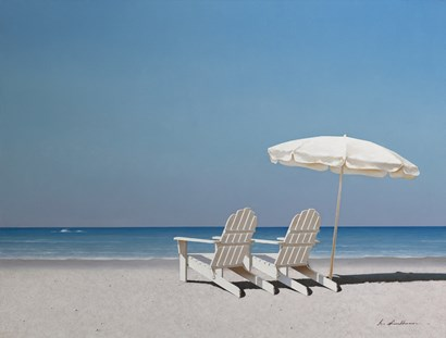 Beach Day by Zhen-Huan Lu art print