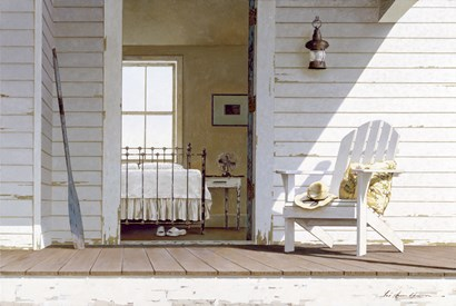 Porch 3 by Zhen-Huan Lu art print