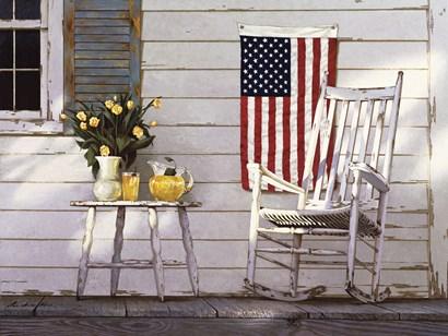 Fourth Of July by Zhen-Huan Lu art print