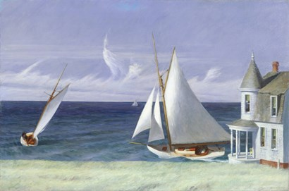 The Lee Shore, 1941 by Edward Hopper art print